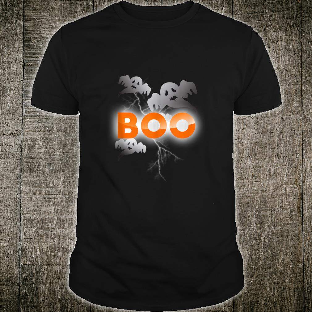 Scary Spooky Ghost Boo Halloween Shirt