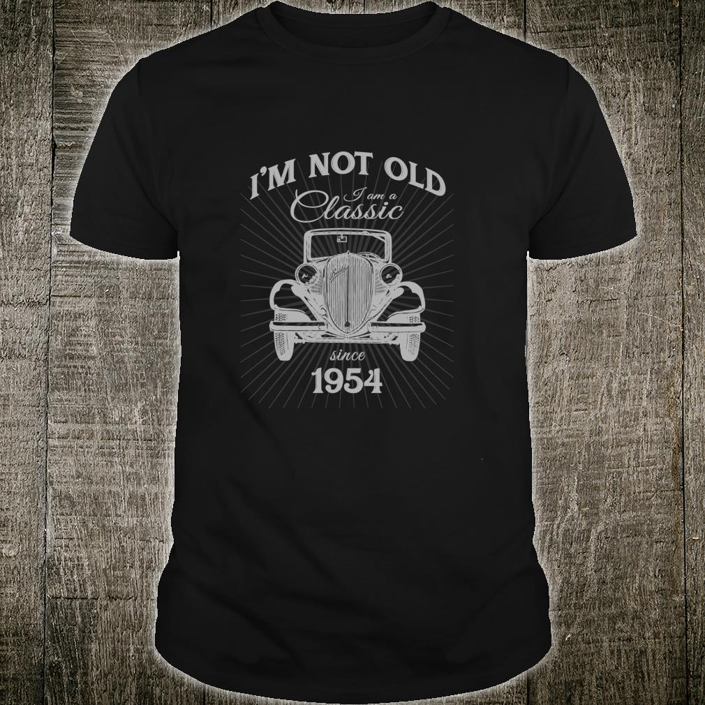 Silly 66th Birthday Not Old I'm A Classic Since 1954 Shirt