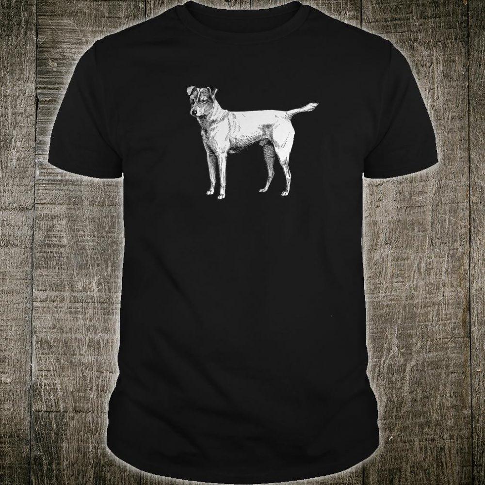 Smooth Fox Terrier Dog Vintage Illustration Shirt