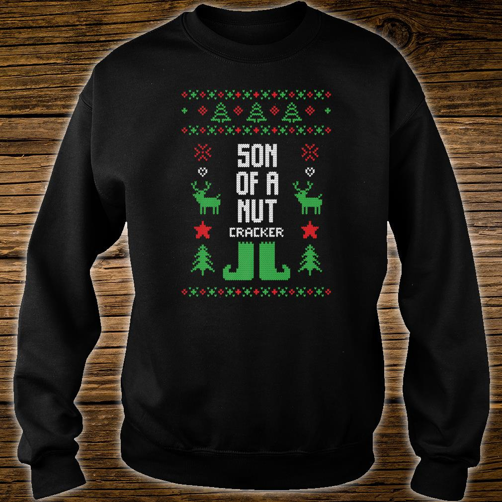Son of a Nutcracker Ugly Christmas Party Shirt sweater