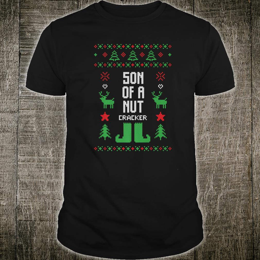 Son of a Nutcracker Ugly Christmas Party Shirt