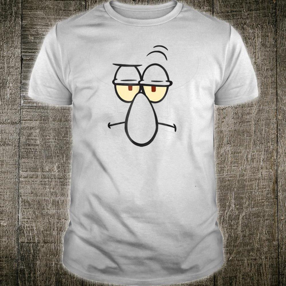 SpongeBob SquarePants Squidward Face Shirt
