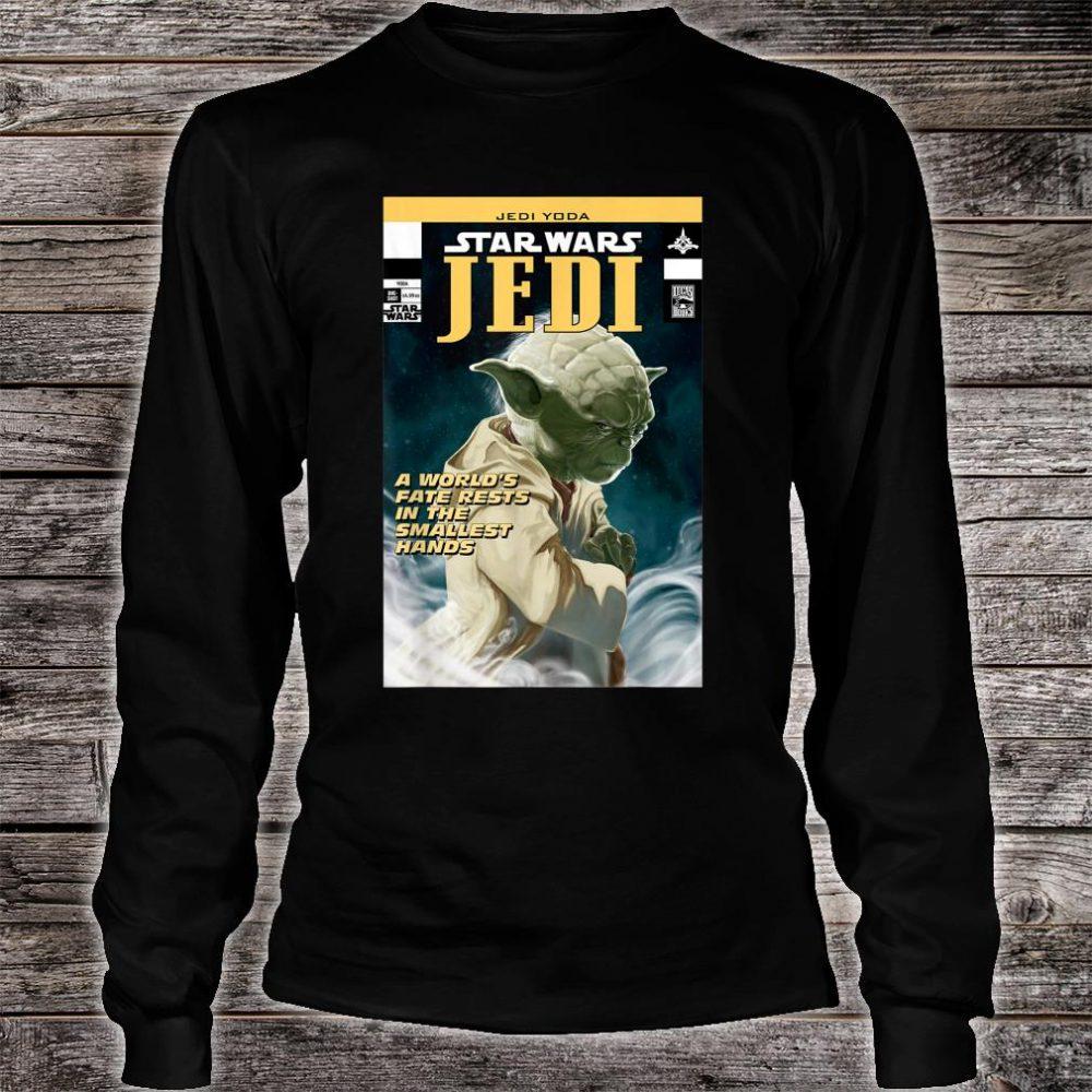 Star Wars Yoda Jedi Comic Shirt long sleeved