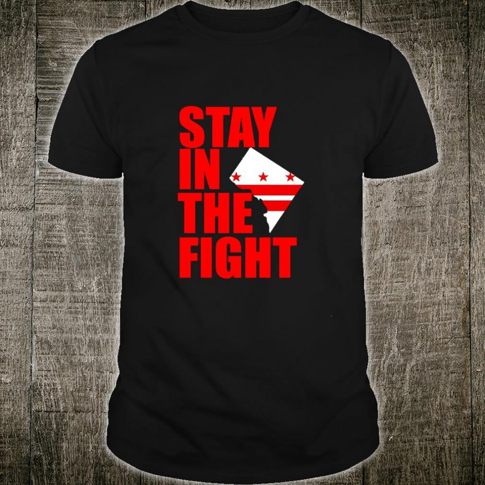Stay in the Fight Washington Baseball Series National Flag Shirt