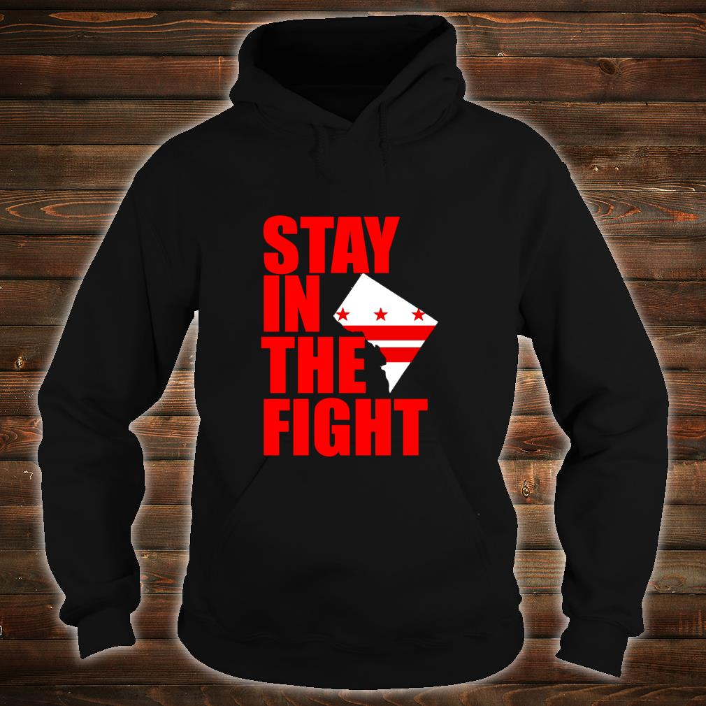 Stay in the Fight Washington Baseball Series National Flag Shirt hoodie
