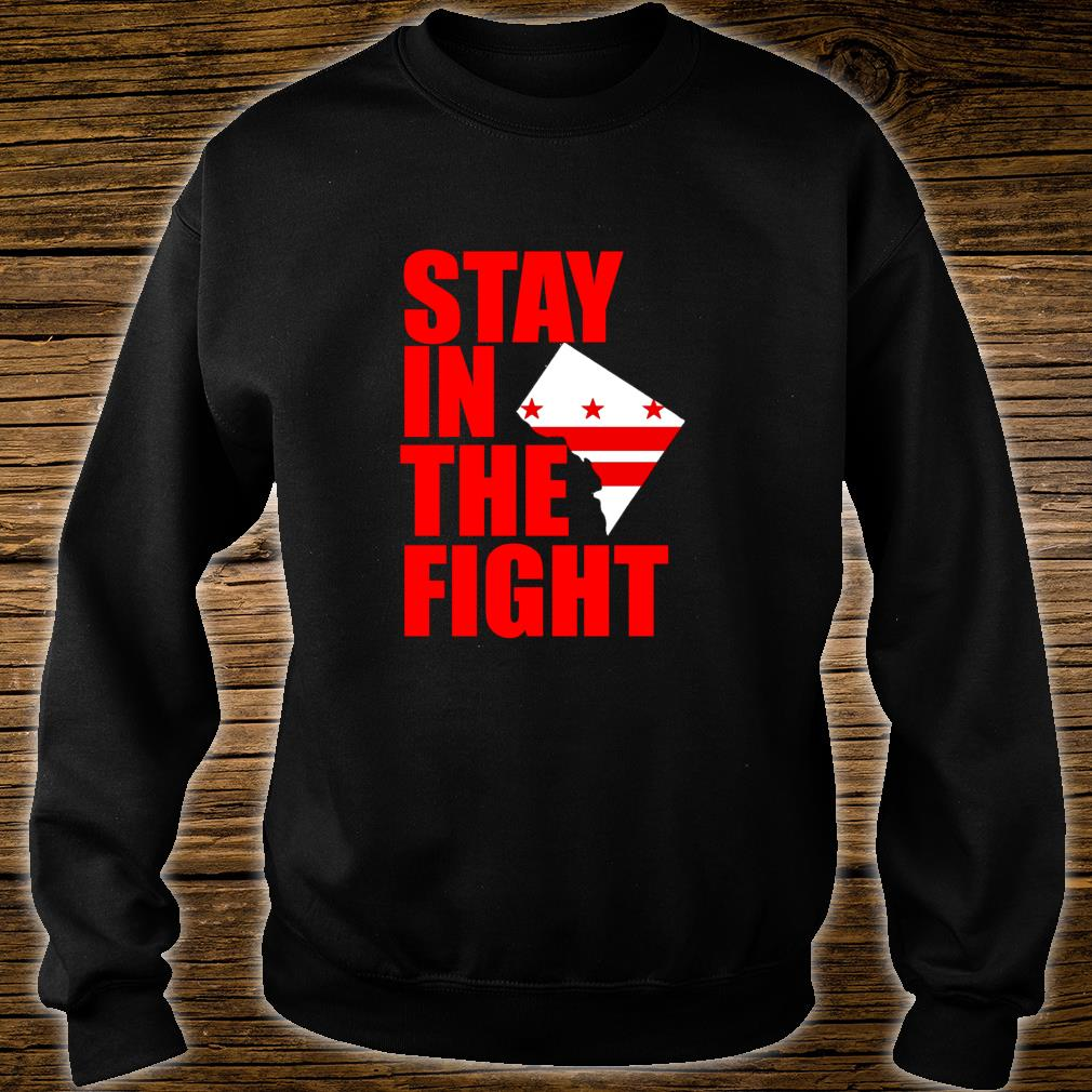 Stay in the Fight Washington Baseball Series National Flag Shirt sweater
