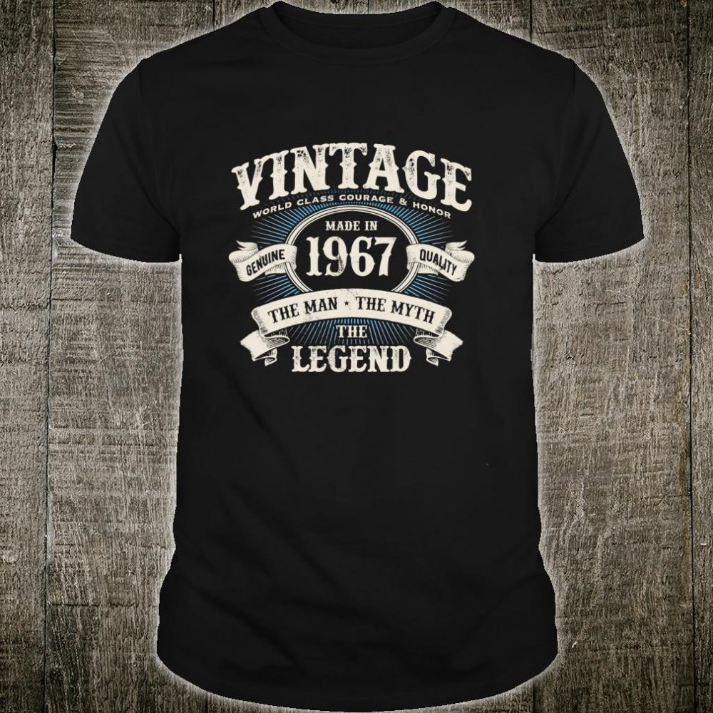 The Man Myth Legend Born in 1967 Classic 53rd Birthday m9 Shirt