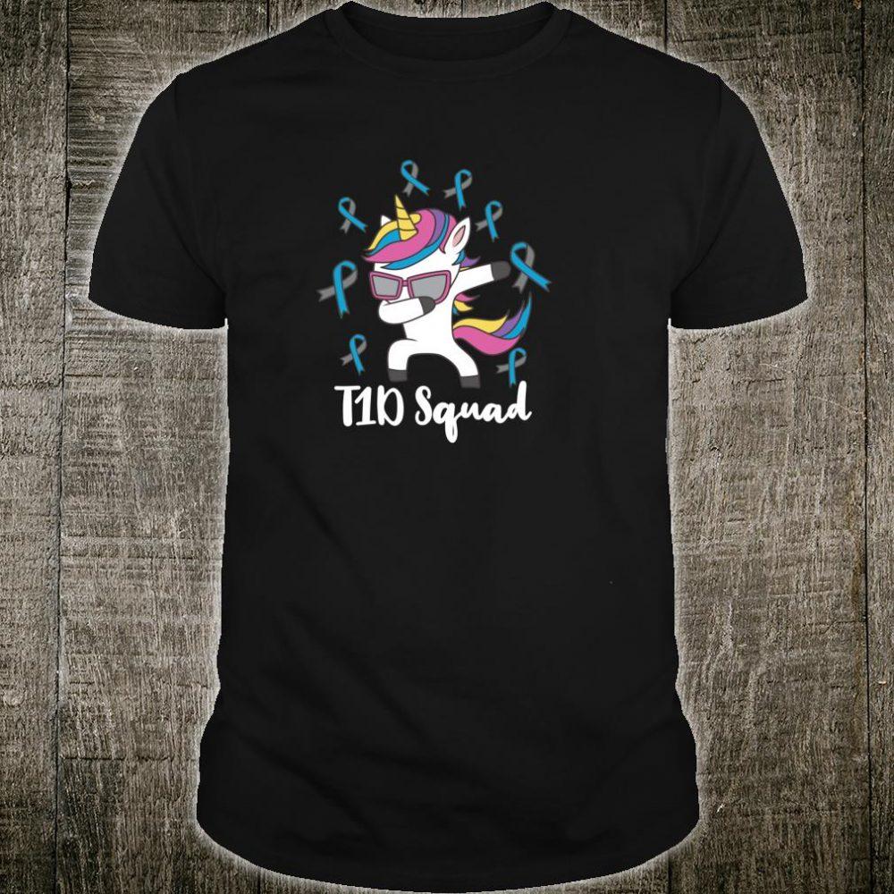 Type 1 Diabetes T1D Squad Awareness For Diabetic Shirt