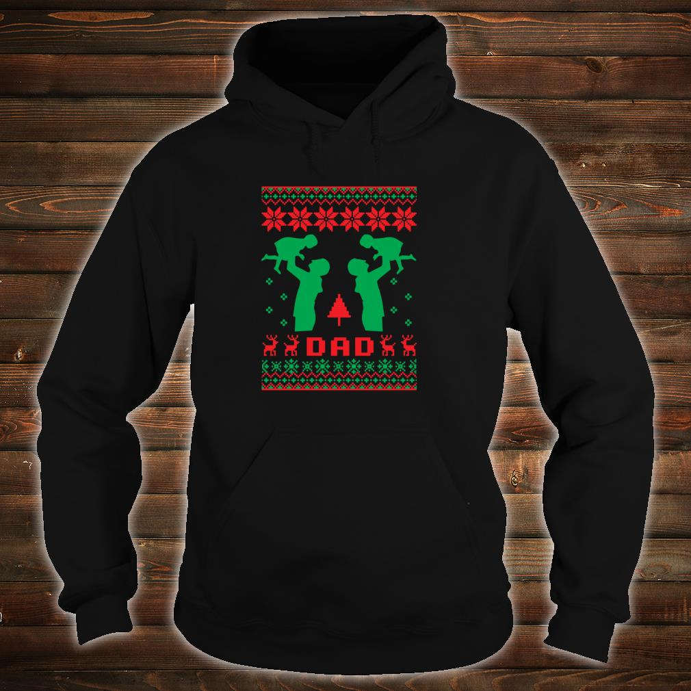 Ugly Best Dad Father Christmas Daughter New Year 2019 Shirt hoodie