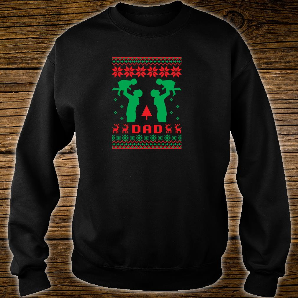 Ugly Best Dad Father Christmas Daughter New Year 2019 Shirt sweater