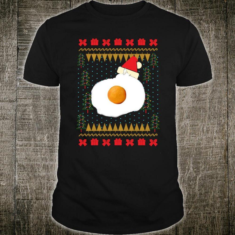 Ugly Christmas Egg Cat Shirt