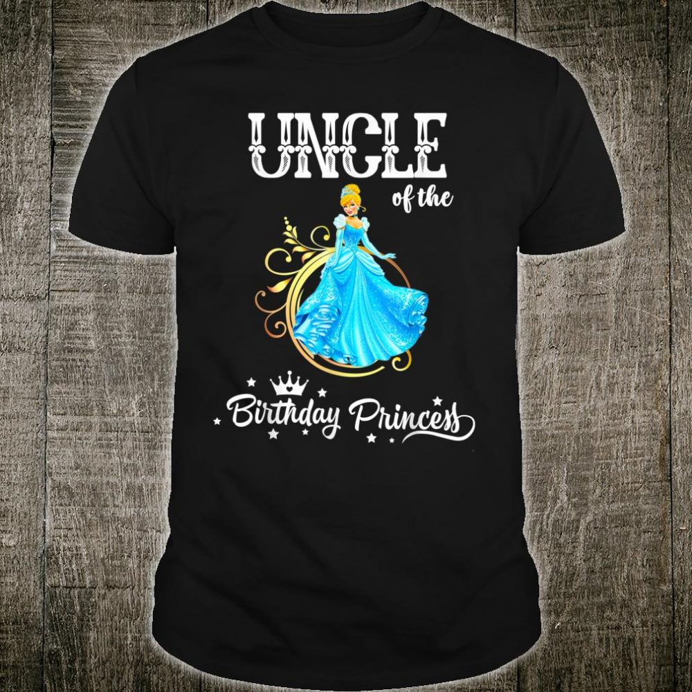 Uncle of the Birthday Princess Party Shirt
