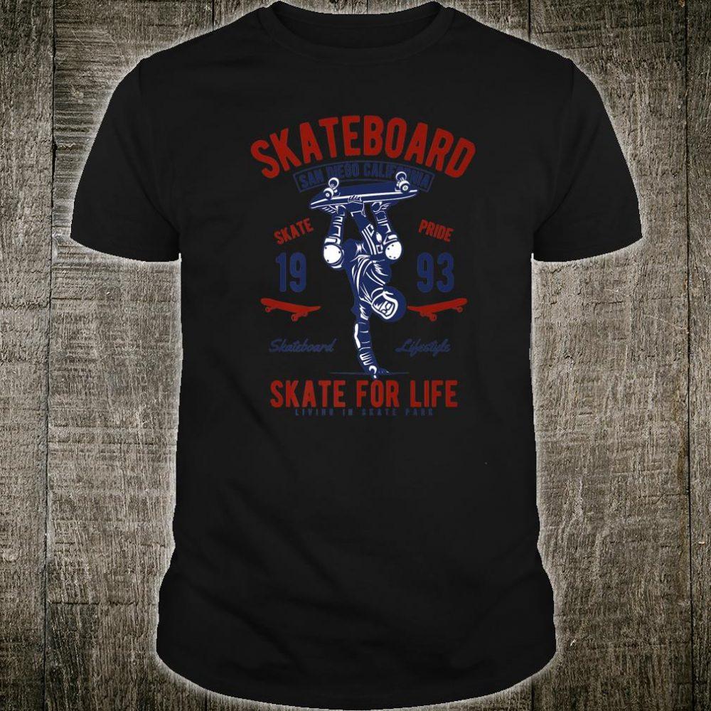 Vintage Skateboard San Diego California Skate Pride 1993 Shirt