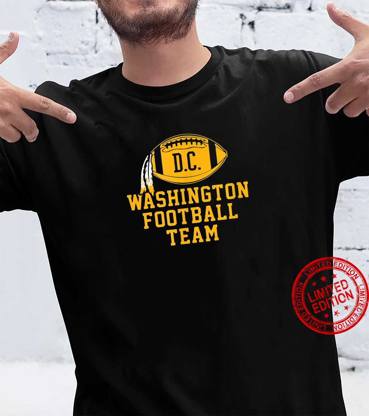 Vintage Washington Football DC Sports Team Novelty Shirt