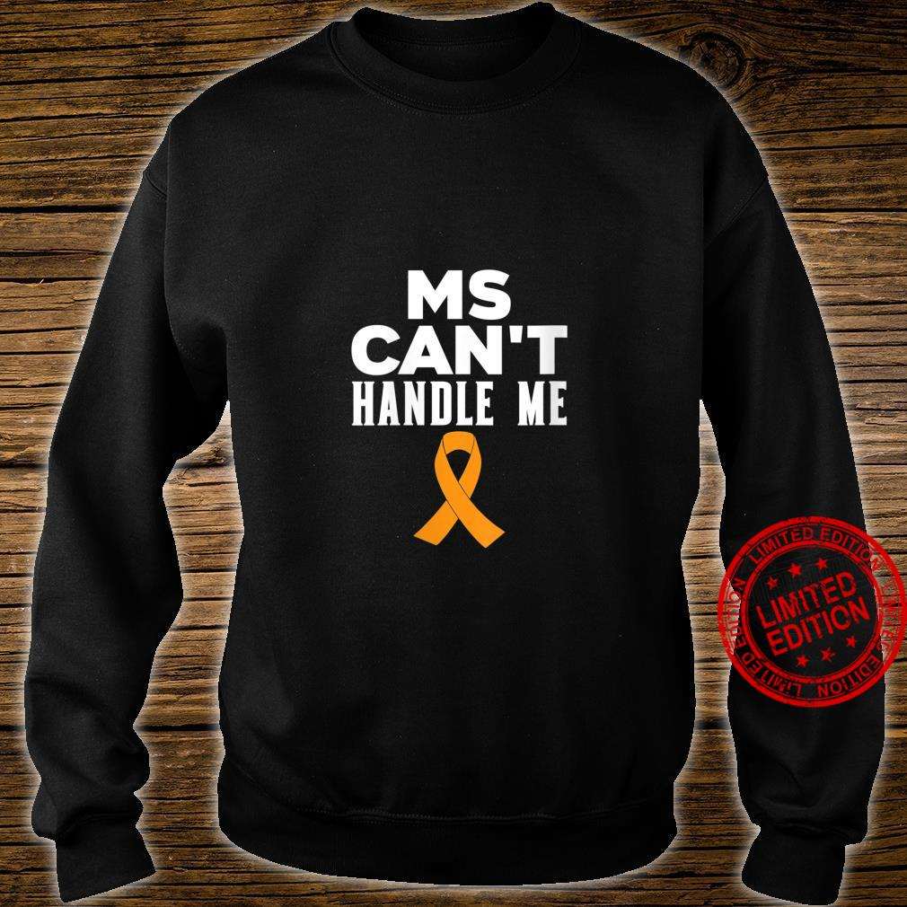 Womens MS Can't Handle Me Shirt sweater