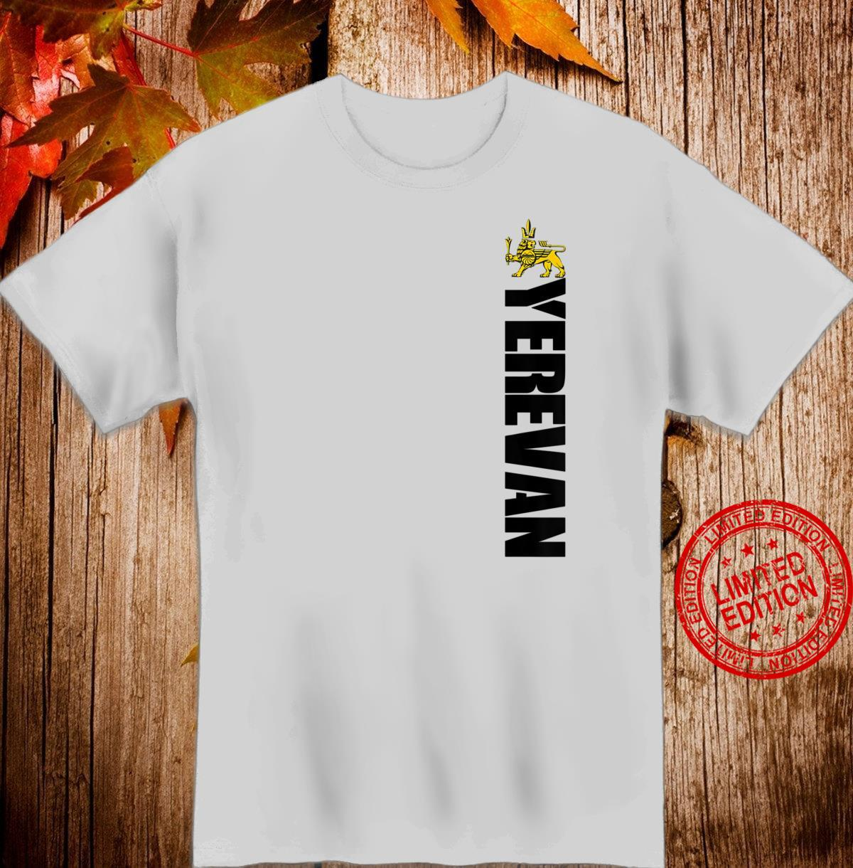 Yerevan Armenia Souvenir Yerevanite Winged Erebuni Lion Shirt