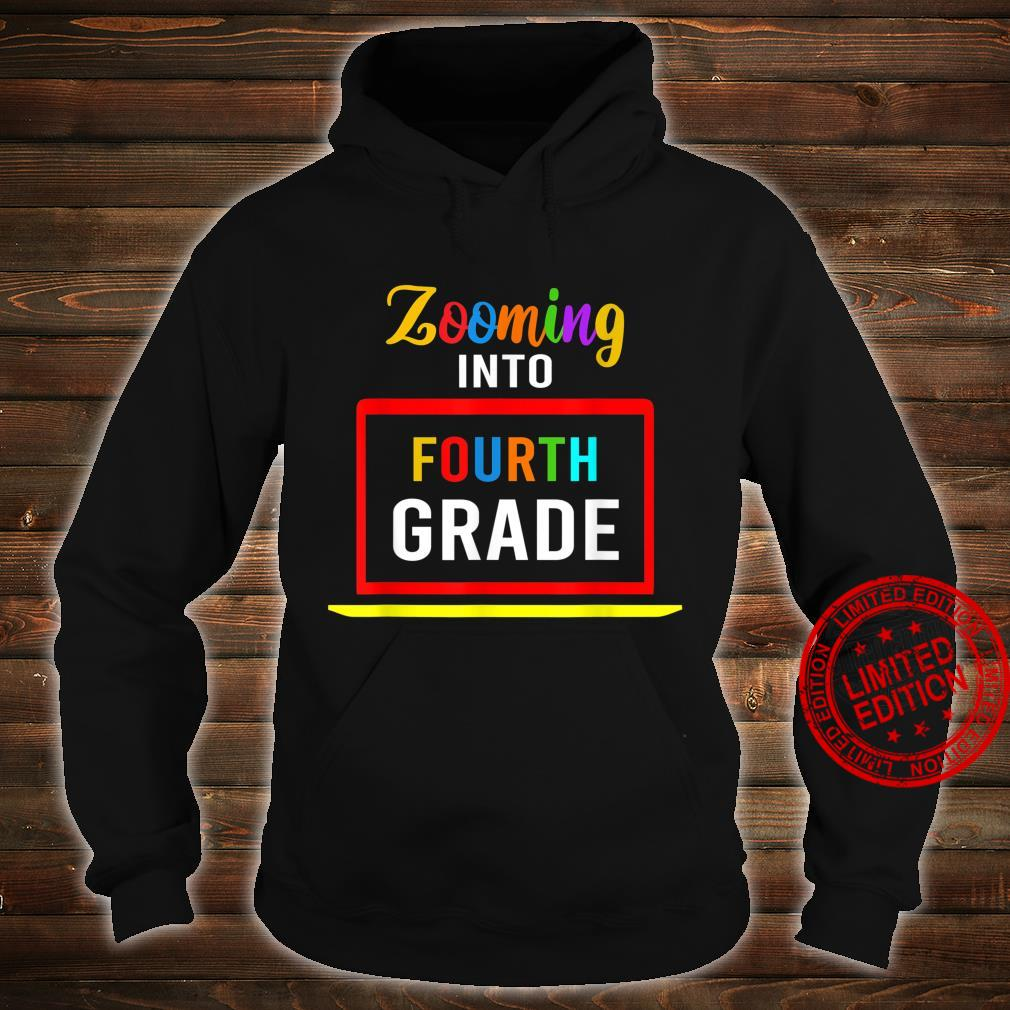 Zooming Into 4th Fourth Grade Virtual Back to School 2020 Shirt hoodie